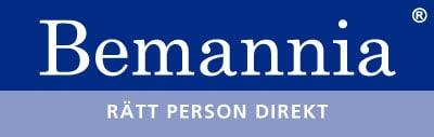 grafisk profil logga bemannia
