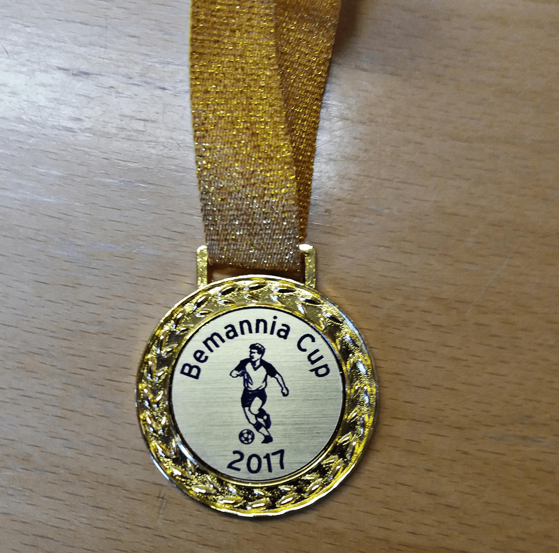 Pris i Bemannia Cup i Hofors