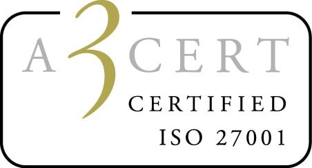 Bemannia är nu certifierade enligt ISO standarden 27001 gällande Informationssäkerhet.