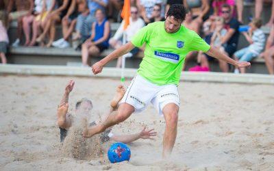 Bemannias BFC representerar Sverige i Beach Soccer 2021