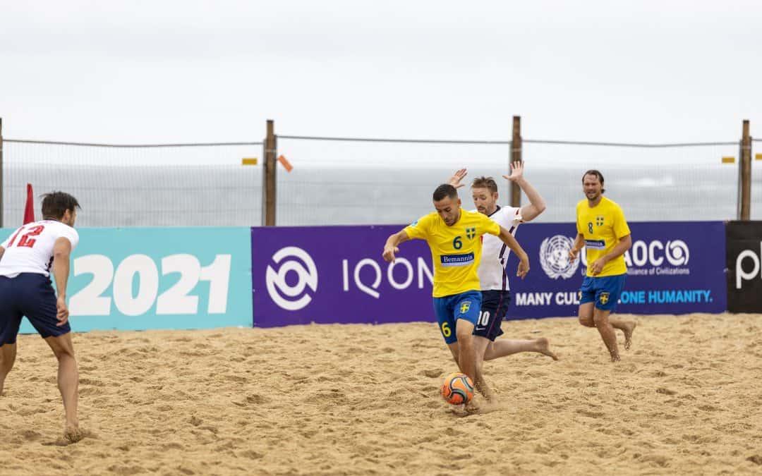 Team Sweden gör debut i VM-kval